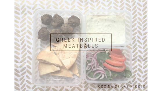 Greek Inspired Meatballs