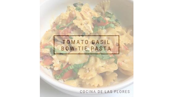 Tomato Basil Bow-TiePasta