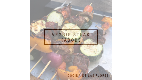 Veggie-Steak Kabobs