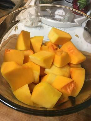 Butternut chunks