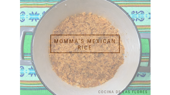 Momma's Mexican Rice