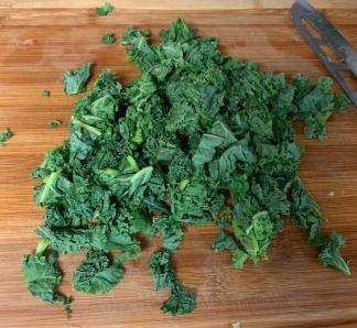 8. Chop Kale