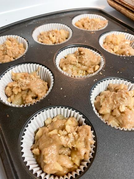 6. Fill Muffin Tin