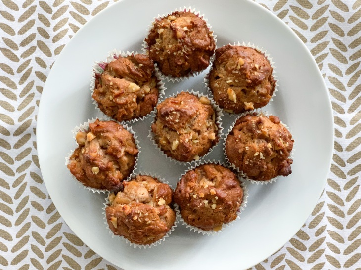 7. Finished muffins