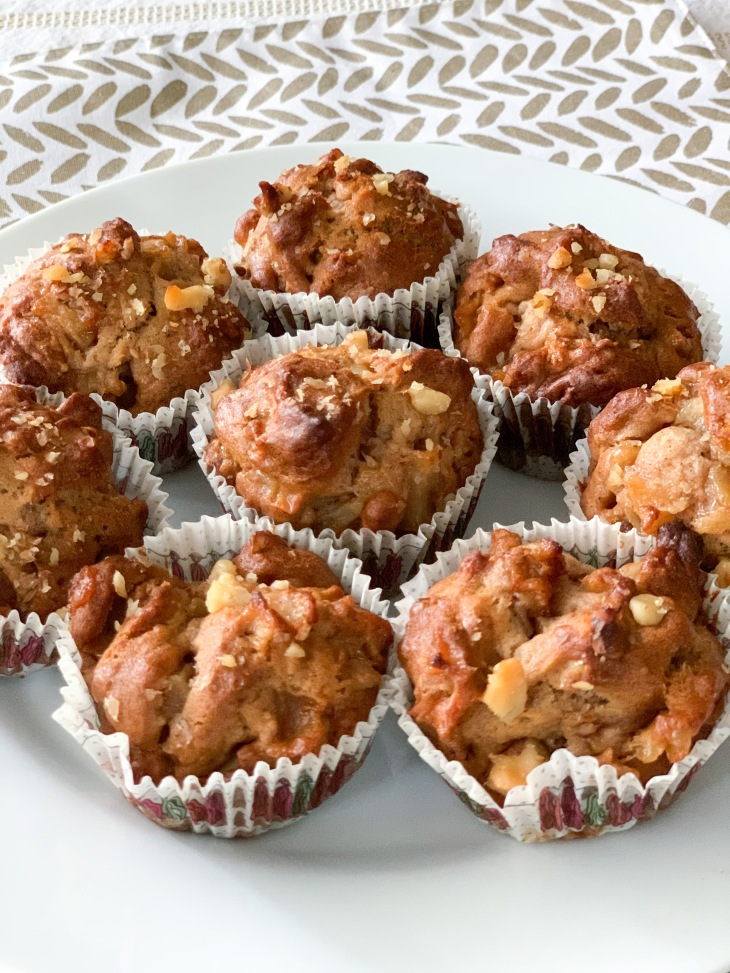 8. Finished muffins