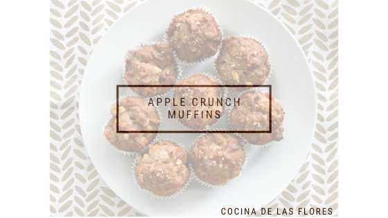 Apple Crunch Muffins